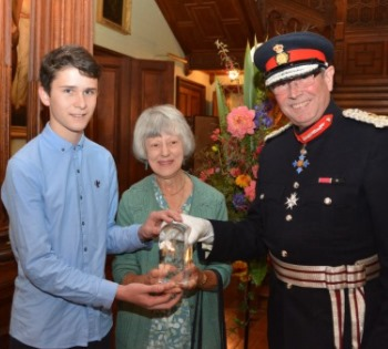 Queens award for voluntary service, tortoise