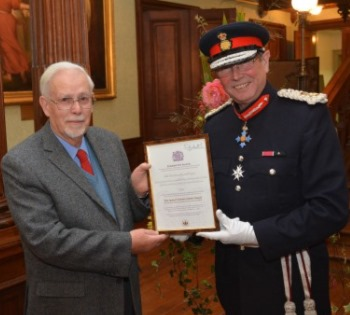 Queens award for voluntary service, goat