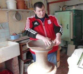 Pottery, garden