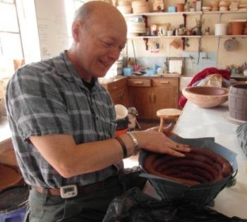 Pottery, clay pot