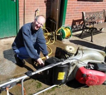 Acorn Gardening Services, tractor